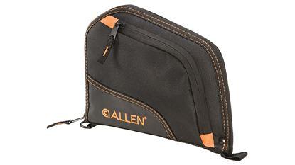 """Picture of Allen Autofit Pistol Case 9"""" Black/Orange"""