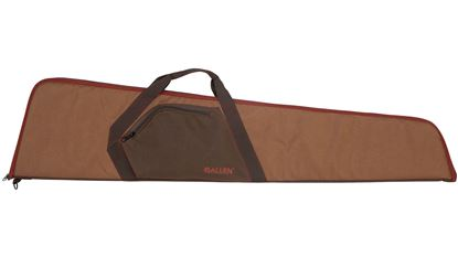 """Picture of Allen Belford 46"""" Rifle Case Brown/Camel"""