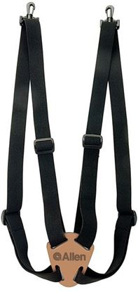 Picture of ALL DLX BINOCULAR STRAP BLACK