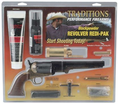 Picture of Traditions 1858 New Army 44 Brass Redi Pak