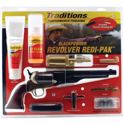 "Picture of Traditions 1860 Army Redi Pk .44/8"" Blued"