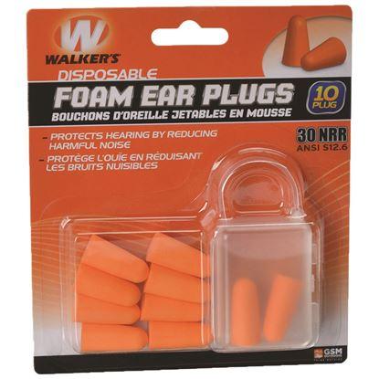 Picture of Walkers Foam Ear Plugs