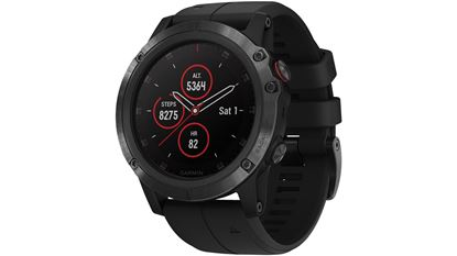 Picture of Garmin Fenix 5S Plus Sapphire Black