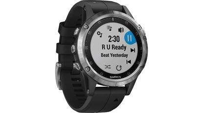 Picture of Garmin Fenix 5 Plus Glass Silver