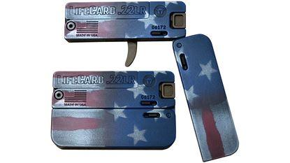 "Picture of Trailblazer Firearms Lifecard Flag 22LR 2.5"" 1 Rd"