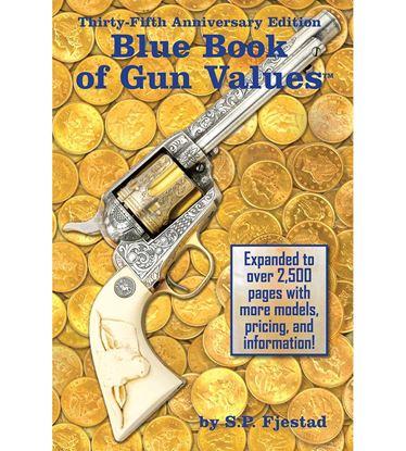 Picture of BLB BLUE BOOK GUN VALUES 35TH