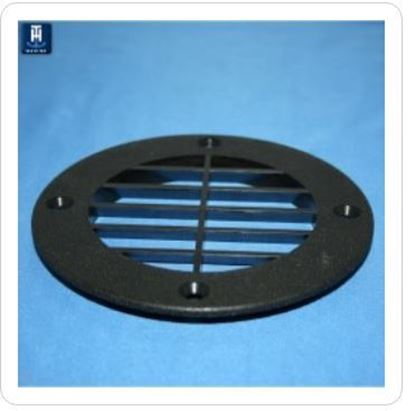 Picture of THMA VENT CVR LOUVERED WH