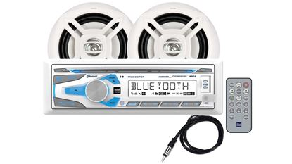 Picture of DUAL BLUETOOTH W/2SPKRS WHT
