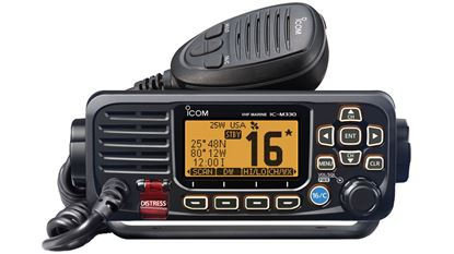 Picture of ICOM VHF W/GPS RCVR & ANT BLK