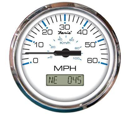 Picture of FARI CHESAPEAKE GPS SPEEDO WHIT