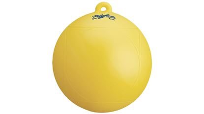 Picture of POLY WATERSKI BUOY YELLOW