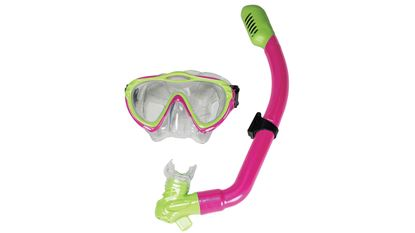 Picture of LEAD SNORKEL KIT JR PINK/LIME