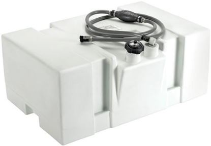 Picture of MOEL GAS TANK WHITE 24 GAL
