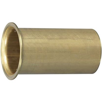 """Picture of MOEL DRAIN TUBE 6""""X1""""OD BRASS"""