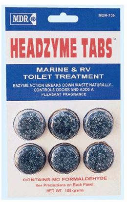 Picture of MDRC  HEADZYME TABS 6/PK