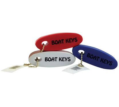 Picture of DYER FLOATER BOAT KEY WHT