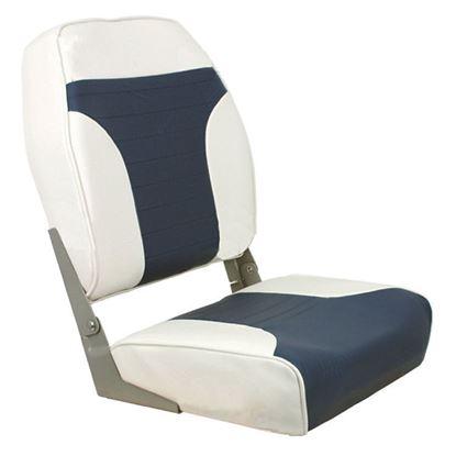 Picture of SPRI HIGH-BK BLD SEAT GREY/BLU