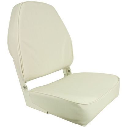 Picture of SPRI HIGH-BK FLD SEAT WHITE