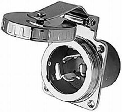 Picture of HUBB INLET 50A 125/250V