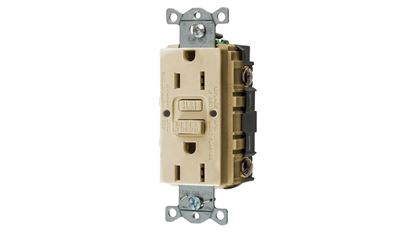 Picture of HUBB GROUND FAULT RECEPTACLE
