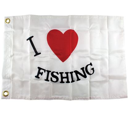 Picture of TAYL FLAG I LOVE FISHING