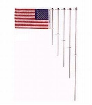 Picture of TAYL FLAG POLE 30IN W/CLP