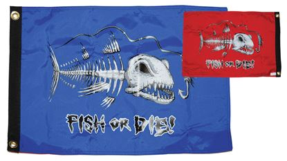 Picture of TAYL FLAG FISH OR DIE