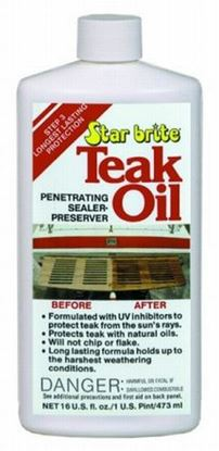 Picture of STBR TEAK OIL 16OZ