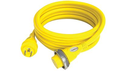 Picture of FURR 30A CORDSET 50'/YEL/LED