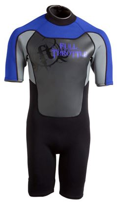 Picture of FTHR WETSUIT ADT SHTY BLU/GRY M