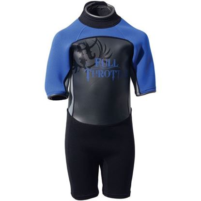 Picture of FTHR WETSUIT YTH SHTY RED/GRY L