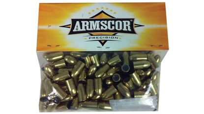 Picture of Armscor 38/357 125GR FMJ Bullet