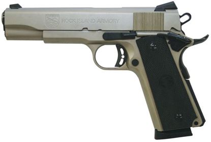 Picture of Armscor Rock Standard FS Nickel 45 ACP 5""