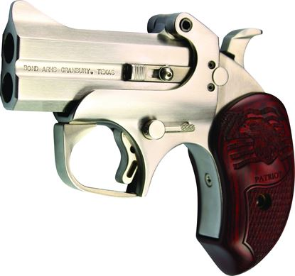 "Picture of Bond Arms BAPA-45/410 Patriot 45/410 3"" Barrel w/ Custom Rosewood Ext Grip"
