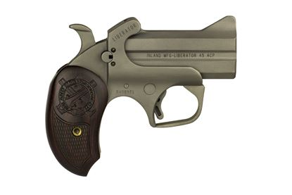 "Picture of Inland ILMDER45 Liberator Pistol 45 ACP Derringer 3.5"" 2rd"