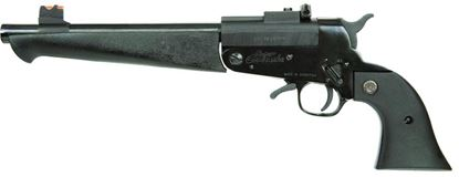 Picture of Comanche SCP40000 Super Break Revolver 45 LC, 10 in, Syn Grp, 1 Rnd, Fixed Front & Adjustable Rear, Blued Frame