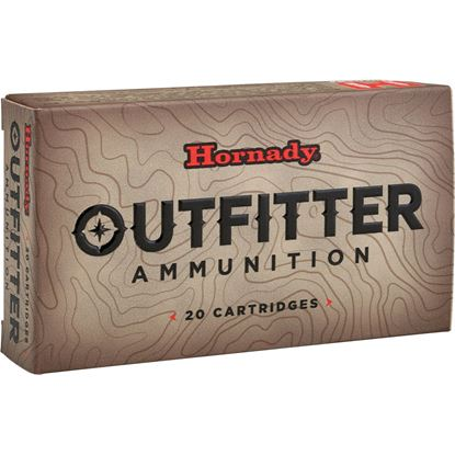 Picture of Hornady 80457 Outfitter Rifle Ammo 243 Win, 80 Gr, GMX OTF, 20 Rnd