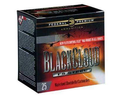 """Picture of Federal PWBX209-3 Black Cloud Waterfowl Shotshell 20 GA 3"""" 1oz 3, 25 Rnd per Box"""