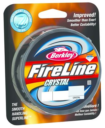 Picture of Berkley BFLFS4-CY FireLine Fused Crystal Braided Line 4lb/1 125yd Filler Spool