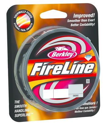 Picture of Berkley BFLFS20-42 FireLine Fused Original Braided Line 20lb/8 125yd Filler Spool Smoke