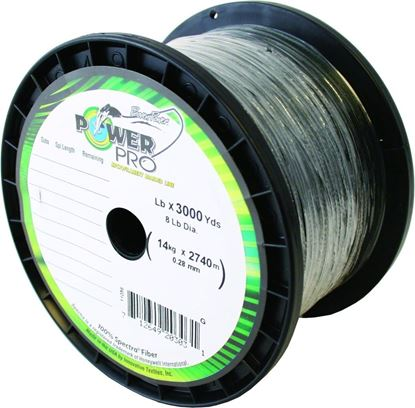 Picture of  Power Pro 21100803000E Spectra Braided Fishing Line 80lb 3000yd Green