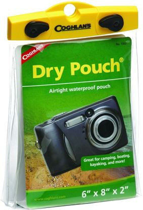"""Picture of Coghlans 1352 Dry Pouch 6""""x8""""x2"""" (079468)"""