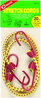 """Picture of Coghlans 512 Stretch Cords 20"""" 2Pk (503888)"""