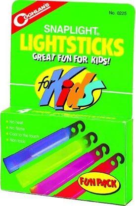 Picture of Coghlans 0225 Kids Lightsticks 4Pk (058383)