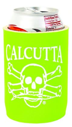 Picture of Calcutta CCCLG Can Cooler Lime Green w/Wht Logo