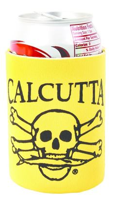Picture of Calcutta CPCYL Pocket Can Cooler Yellow w/Blk Logo