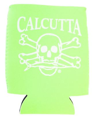 Picture of Calcutta CPCLG Pocket Can Cooler Lime Green w/Wht Logo