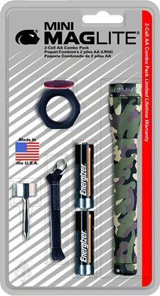 Picture of Maglite M2A02C Mini Combo Mini Mag/Accessories Camo