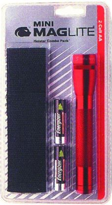 Picture of Maglite M2A03H Holster Combo Red