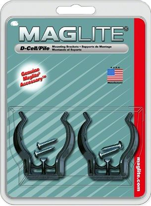 Picture of Maglite ASXD026 Mount Bracket DCell Universal 2Pk